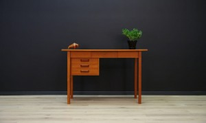 G. N. TIBERGAARD WRITING DESK TEAK DANISH DESIGN