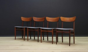 CHAIRS VINTAGE DANISH DESIGN 60 70