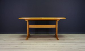 MID-CENTURY TABLE DANISH DESIGN ASH RETRO