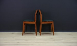 SCANDINAVIAN DESIGN CHAIRS 60 70 VINTAGE TEAK