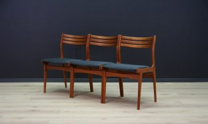 JOHANNES ANDERSEN CHAIRS RETRO DANISH DESIGN