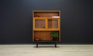 BOOKCASE VINTAGE DANISH DESIGN 60 70 RETRO