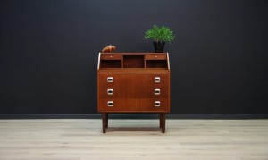 SECRETAIRE DANISH DESIGN TEAK VINTAGE