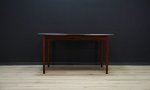 RETRO DINING TABLE ROSEWOOD VINTAGE DANISH DESIGN