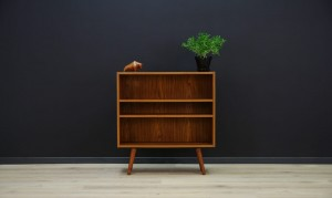 BOOKCASE 60 70 TEAK SCANDINAVIAN DESIGN