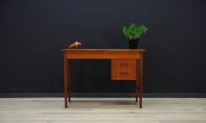 WRITING DESK DANISH DESIGN MID CENTURY TEAK