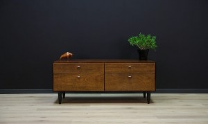 VINTAGE DANISH DESIGN CHEST OF DRAWERS RETRO