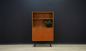 VINTAGE BOOKCASE DANISH DESIGN TEAK 60 70