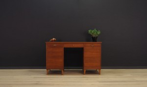ORIGINAL WRITING DESK MID CENTURY TEAK CLASSIC