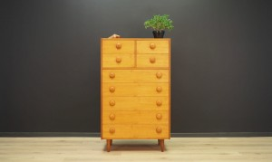 VINTAGE CHEST OF DRAWERS TEAK DANISH DESIGN RETRO