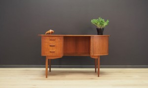 UNIQUE WRITING DESK 60 70 DANISH DESIGN TEAK