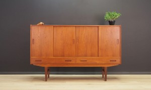 ERIK JENSEN TEAK HIGHBOARD 60 70 RETRO