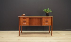 CLASSIC TEAK DESK DANISH DESIGN 60 70