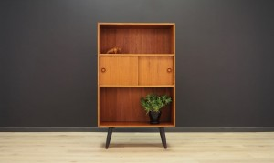VINTAGE BOOKCASE TEAK 60 70 DANISH DESIGN