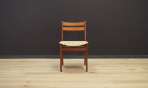 CHAIR DANISH DESIGN TEAK MID-CENTURY RETRO