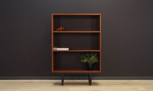 BOOKCASE TEAK DANISH DESIGN 60 70