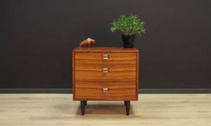 CHEST OF DRAWERS RETRO SCANDINAVIAN DESIGN ROSEWOOD 60 70
