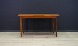 VINTAGE DANISH DESIGN TABLE 60 70 RETRO TEAK