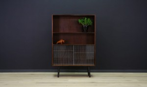 VINTAGE BOOKCASE DANISH DESIGN ROSEWOOD