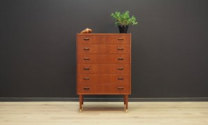 CHEST OF DRAWERS VINTAGE 60 70 DANISH DESIGN
