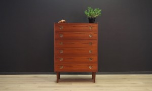 VINTAGE CHEST OF DRAWERS 60 70 ROSEWOOD RETRO