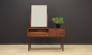 VINTAGE DRESSING TABLE DANISH DESIGN ROSEWOOD