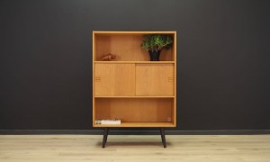BOOKCASE DANISH DESIGN VINTAGE 60 70