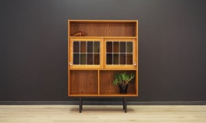 BOOKCASE TEAK VINTAGE DANISH DESIGN