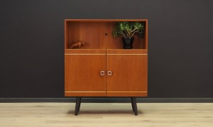 BOOKCASE VINTAGE DANISH DESIGN TEAK RETRO