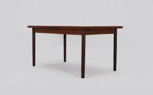 SCANDINAVIAN DESIGN TEAK TABLE 60/70