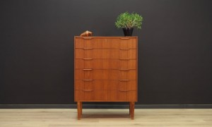 CHEST OF DRAWERS TEAK SKANDINAVIAN DESIGN VINTAGE 60 70