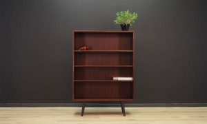 BOOKCASE ROSEWOOD DANISH DESIGN 60 70