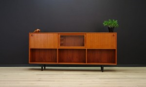 UNIQUE SIDEBOARD TEAK RETRO DANISH DESIGN