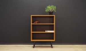 BOOKCASE RETRO 60 70 VINTAGE DANISH DESIGN