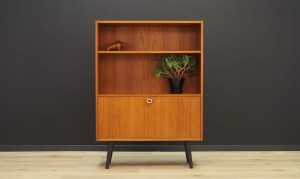 BOOKCASE DANISH DESIGN TEAK 60 70