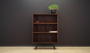 BOOKCASE RETRO DANISH DESIGN 60 70 VINTAGE