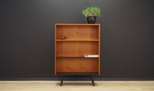 BOOKCASE TEAK DANISH DESIGN VINTAGE 60 70