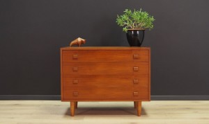 CHEST OF DRAWER 60 70 RETRO DANISH DESIGN VINTAGE
