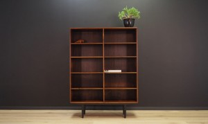 BOOKCASE VINTAGE 60 70 DANISH DESIGN