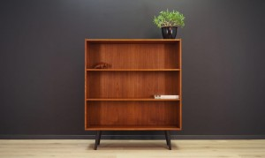 BOOKCASE TEAK VINTAGE DANISH DESIGN 60 70