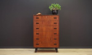CHEST OF DRAWERS TEAK MID-CENTURY DANISH DESIGN