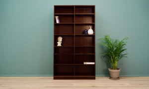 BOOKCASE DANISH DESIGN VINTAGE 60 70 RETRO
