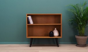 BOOKCASE  60 70 VINTAGE DANISH DESIGN