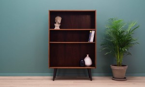 BOOKCASE DANISH  DESIGN 60 70 VINTAGE