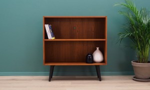 BOOKCASE TEAK 60 70 DANISH DESIGN RETRO
