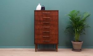 CHEST OF DRAWERS RETRO TEAK DANISH DESIGN