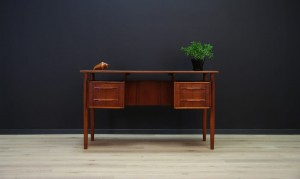CLASSIC WRITING DESK TEAK DANISH DESIGN RETRO