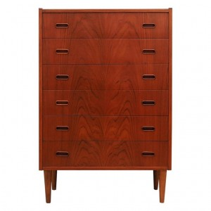RETRO CHEST OF DRAWER 60 70 TEAK
