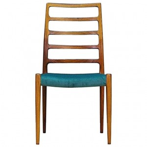 N.O. MOLLER CHAIR VINTAGE DANISH DESIGN