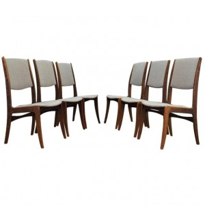 SKOVBY CHAIRS DANISH DESIGN MID-CENTURY